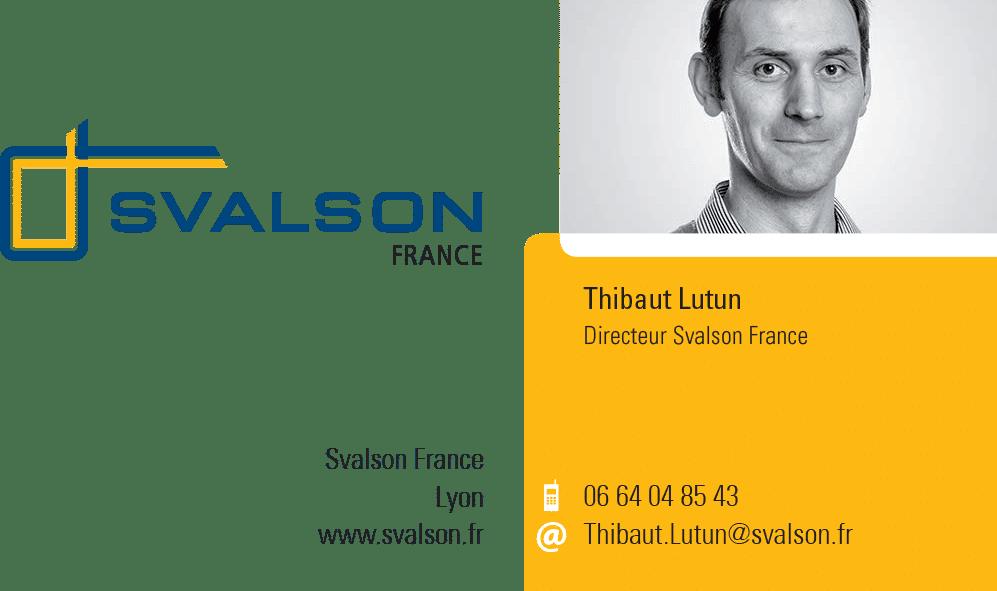 Carte de visite de Thibaut Lutun